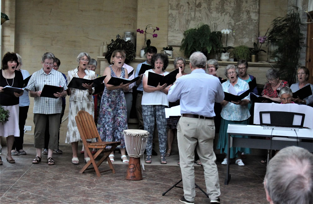 Summer concert for friends and family